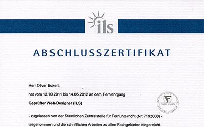 Zertifikat ILS Hamburg - Fern-Lehrgang Preview